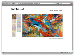 Karl Ramentol - Painter