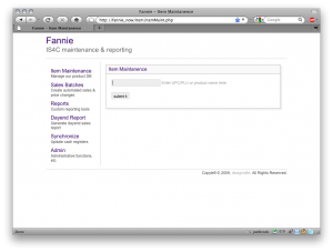 Fannie - POS backend suite